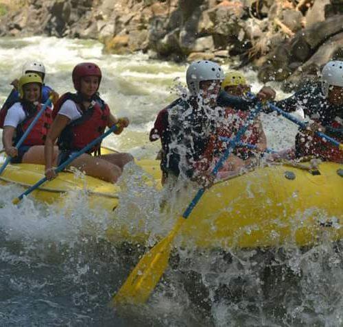 100% Adrenalina en nuestro recorrido por el río Guajoyo