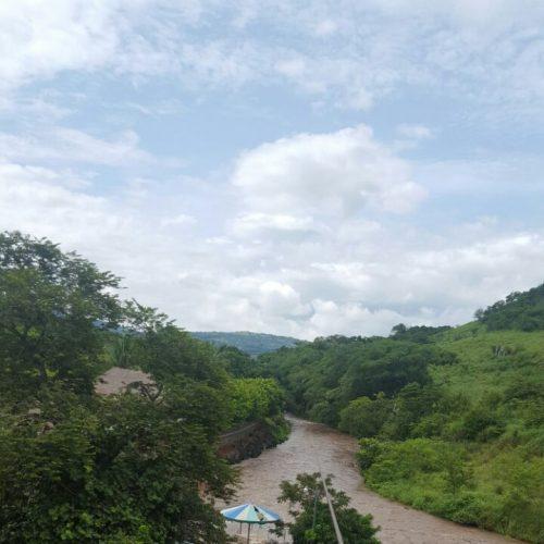 El río Guajoyo, es únicamente impresionante