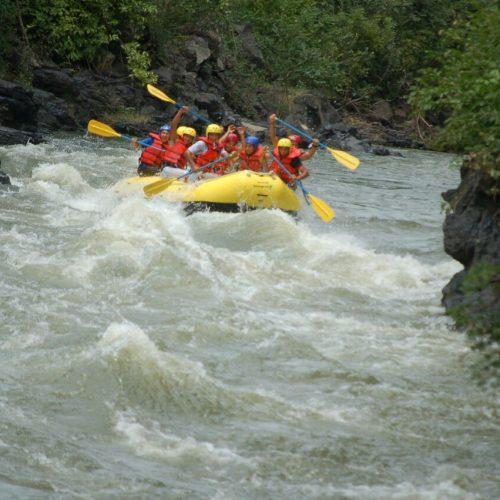 El único Rafting extremo de El Salvador